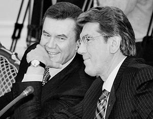 Если верить Москалю, непримиримые политические противники Янукович и Ющенко в свое время отлично поладили друг с другом