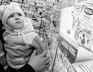Власти стимулируют производство собственного детского питания в России, пока из импортного сырья