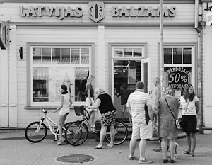 Латвия признает, что европейский турист более скупой, чем российский