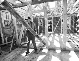 В России могут поддержать строительство деревянных домов