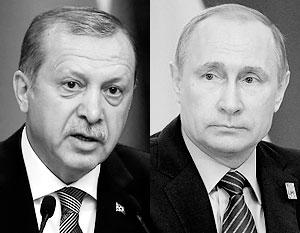 Владимир Путин решил отреагировать на извинения Эрдогана восстановлением отношений между странами