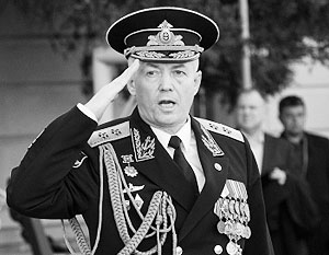 Временно исполнять обязанности командующего Балтфлотом будет вице-адмирал Александр Носатов