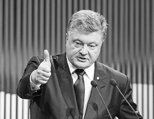 По мнению экспертов, Петр Порошенко делает хорошую мину при плохой игре