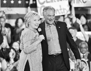 Хиллари Клинтон рассчитывает на авторитет Тимоти Кейна внутри партии