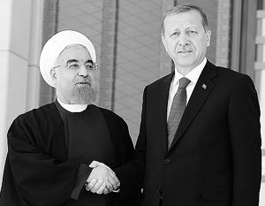 Эрдоган хочет стать для Ирана, как и для России, надежным союзником в борьбе с терроризмом