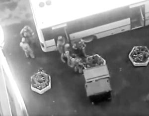 Боевиков задерживали в обычном жилом доме