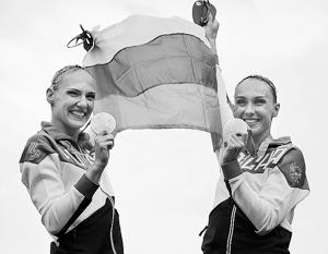 Одной из предсказуемых побед стало золото дуэта Натальи Ищенко и Светланы Ромашиной в синхронном плавании
