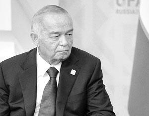Президент Узбекистана, как сообщила его дочь Лола Каримова-Тилляева, перенес кровоизлияние в мозг