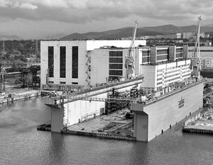 Производство судов на строящейся дальневосточной верфи «Звезда» начнется уже в 2016 году