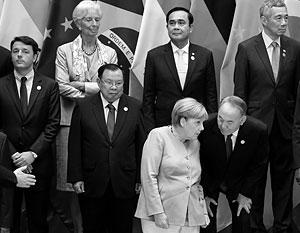 Ангела Меркель попыталась с помощью участников G20 решить у себя дома проблему с мигрантами