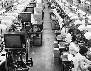Лишь в советское время прежде сугубо аграрная Литва обрела промышленность, в том числе и Шауляйский телевизионный завод