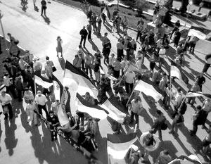 То, что марш несогласных в Самаре станет самой провальной акций из этой серии, стало понятно с первых минут