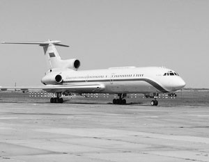 Ту-154 Минобороны России упал в море на седьмой минуте полета