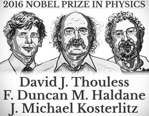 Нобелевские лауреаты по физике – 2016