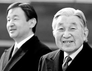 Япония готовится к отречению от престола императора Акихито
