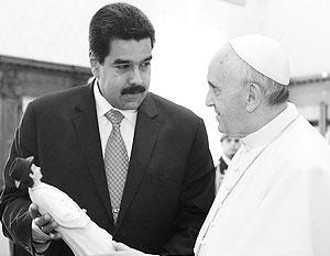 Папа римский Франциск, первый понтифик из Латинской Америки, может найти общий язык с венесуэльским президентом-социалистом