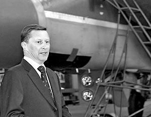 Первый вице-премьер РФ, бывший министр обороны Сергей Иванов