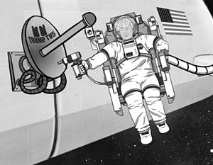 Причиной разработки космического «плана Трампа» стало нежелание бледно выглядеть на фоне Клинтон