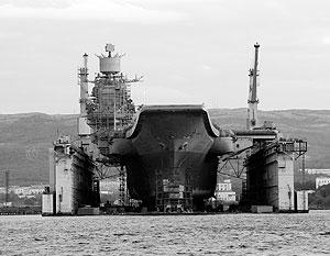 За 25 лет службы авианесущий крейсер ни разу не проходил капитальный ремонт