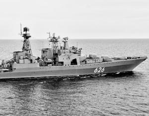 Киев не упомянул участие российского военного корабля в спасении украинского судна