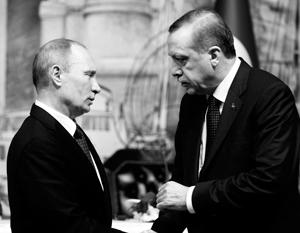 У Путина и Эрдогана большой опыт личного общения