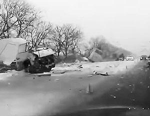 На трассе Р404 Тюмень – Ханты-Мансийск произошла трагедия