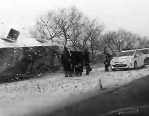 К аварии могло привести обоюдное нарушение правил дорожного движения со стороны нескольких водителей