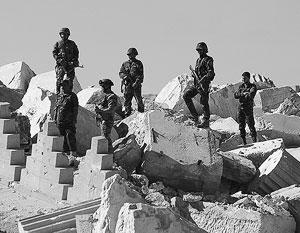 На помощь правительственным войскам под Пальмирой теперь регулярно прибывает подкрепление