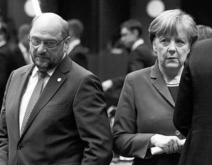 Мартин Шульц всего на год младше Меркель, но во внутригерманской политике он человек новый