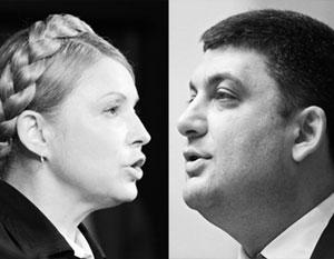 Тимошенко обвинила Гройсмана в «полной неадекватности»