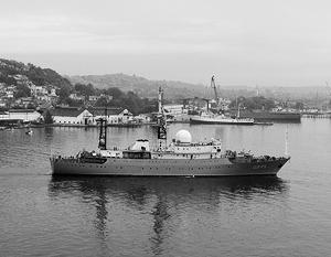 «Виктор Леонов» был замечен в 65 милях к северо-востоку от крупнейшей военно-морской базы США в Атлантике