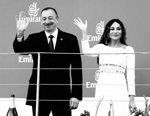 Президент Азербайджана Ильхам Алиев назначил свою жену Мехрибан Алиеву первым вице-президентом республики