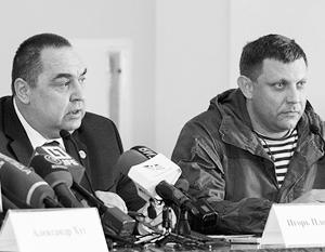 Плотницкий и Захарченко дали Киеву срок до среды