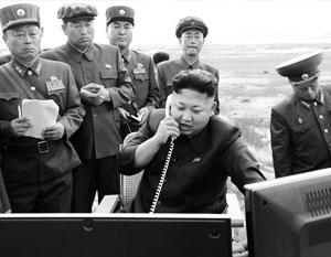 Ким Чен Ын предписал занять позиции и нанести удары по врагу, как только поступит приказ «центра партии»