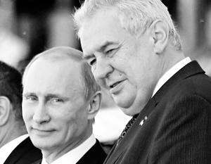 «Хочу, чтобы завершились санкции. Хочу, чтобы развивались взаимовыгодные связи». – сказал Земан по-русски