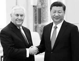 Си Цзиньпин сказал Рексу Тиллерсону: передайте Трампу, что сейчас его очередь