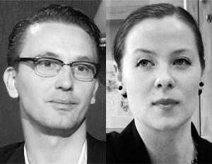 Лауреаты президентской премии для молодых деятелей культуры Виктор Шалай и Вера Лагутенкова