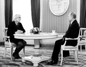 Встреча с Марин Ле Пен обозначила поворот в политике Путина