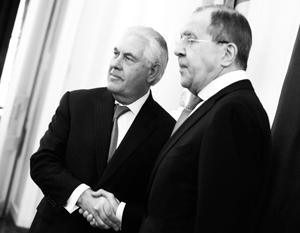 Особого внимания заслуживает медиасопровождение визита Тиллерсона в Москву