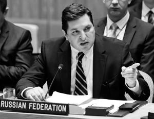Кремль поддержал Владимира Сафронкова в его выступлении на Совбезе ООН