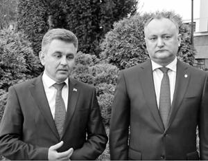 Встреча лидеров Приднестровья и Молдавии стала первой за 8 лет