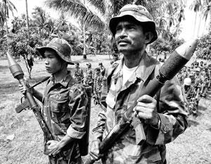 Банды джихадистов, в том числе из «Исламского фронта освобождения моро», до сих пор скрываются в джунглях на южном филиппинском острове Минданао