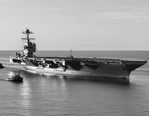 Американский военно-морской флот пересел на «Форд» – именно так в сокращении называется авианосец нового класса