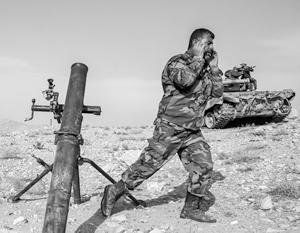 Сирийская армия научилась эффективно использовать преимущества пустыни