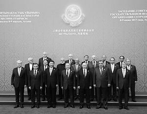 В Астане состоялся ежегодный саммит Шанхайской организации сотрудничества