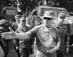Главным сторонником большого наступления в Донбассе остается глава СНБО Турчинов