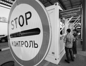 При въезде на Украину россияне теперь будут сдавать отпечатки пальцев