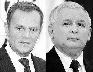 Конфликт между ЕС и Польшей прямо вытекает из личной вражды Туска и Качиньского