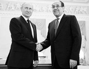 Владимир Путин уже третий раз встречается с Нури аль-Малики