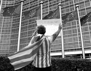 Европейский союз пока что делает вид, что не замечает Каталонию